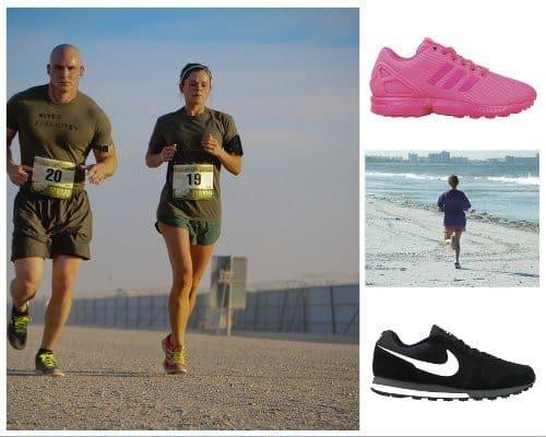 biegacze i buty do biegania